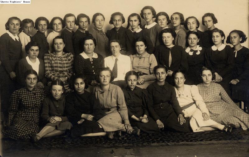 Students in the Kraków Teachers Seminary