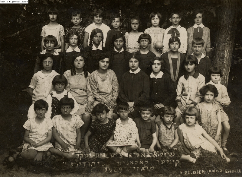 Girls in the Yehudis Summer Camp