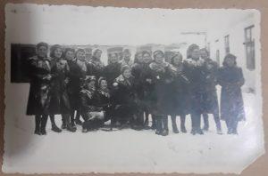 Czernowitz Seminary Students in the Snow