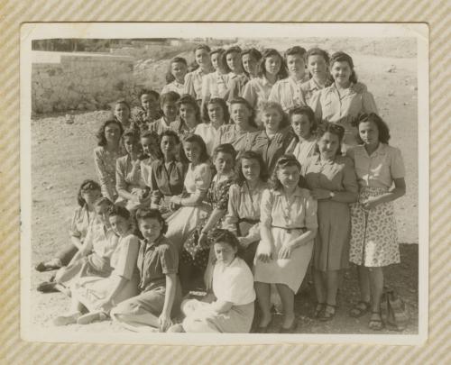 Bais Yaakov of Jerusalem 1946