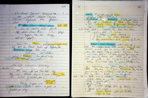 Historia Notes